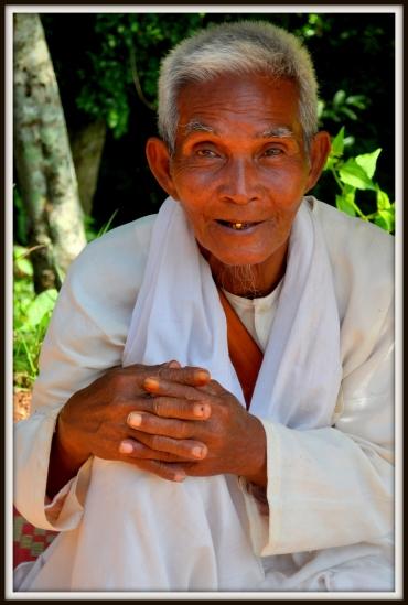 Beggar, Oudong Mountain, 40 kilometres Northwest of Phnom Penh