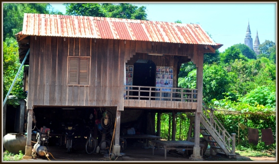 Oudong, 40 kilometres Northwest of Phnom Penh