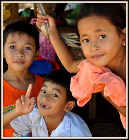 Pagoda Kids, Oudong, 40 kilometres Northwest of Phnom Penh