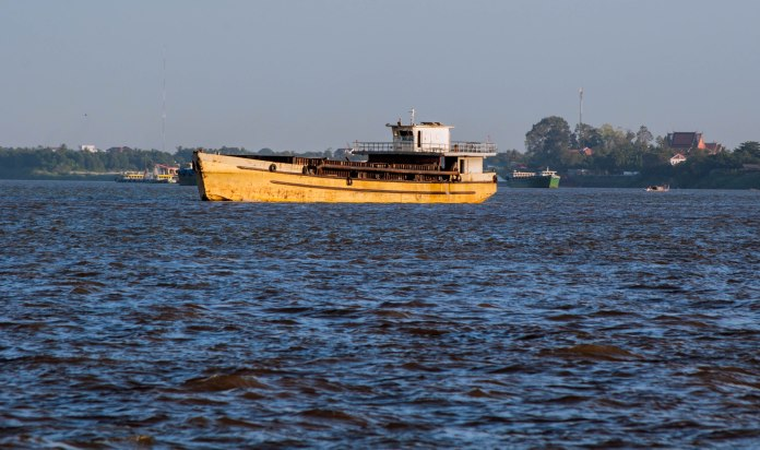 On the Tonle Sap River
