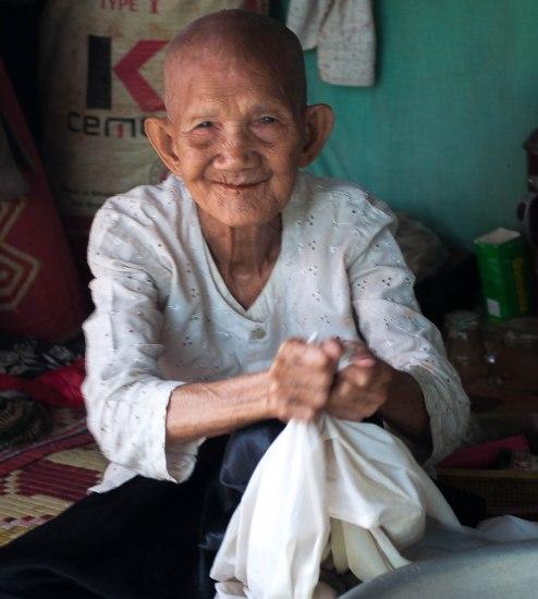 At Home: Within the grounds of Wat Prek Ambel, Prek Ambel Village, Kandal, Cambdia