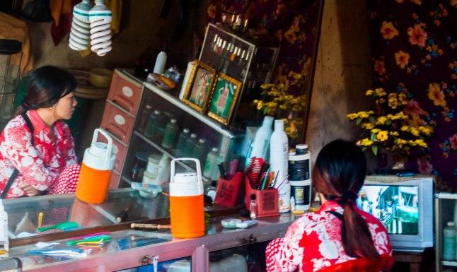 Kampong Chhnang market, Cambodia