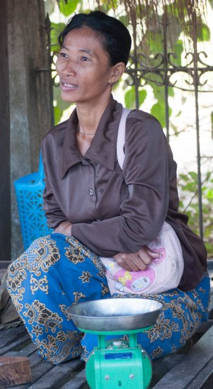 At a market, Battambang province, Cambodia