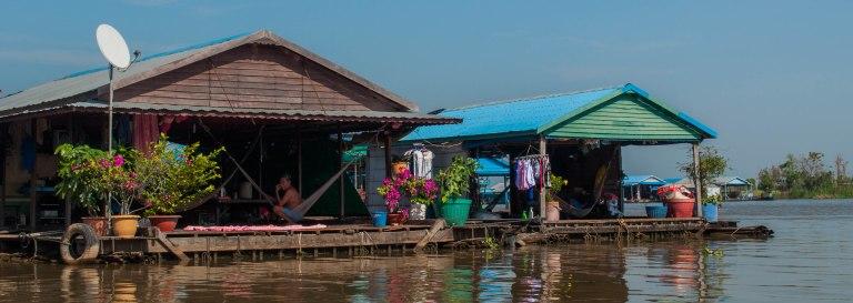 Phoum Kandal Floating Village, Kampong Chnnang