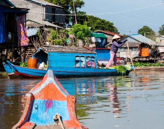 Phoum Kandal Floating Village, Kampong Chhnang