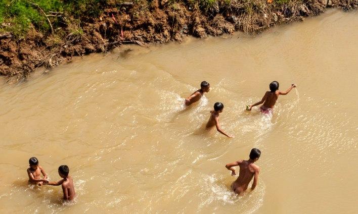 Sangkhae river, Battambang city, Battambang, Cambodia