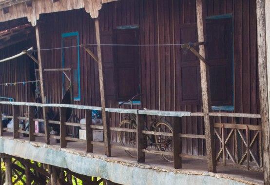 Kampong Chhnang town, Cambodia