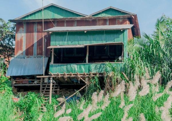Sangkhae river, Battambang province, Cambodia
