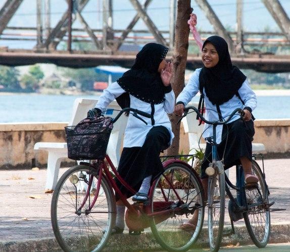 Kampot town, Kampot, Cambodia