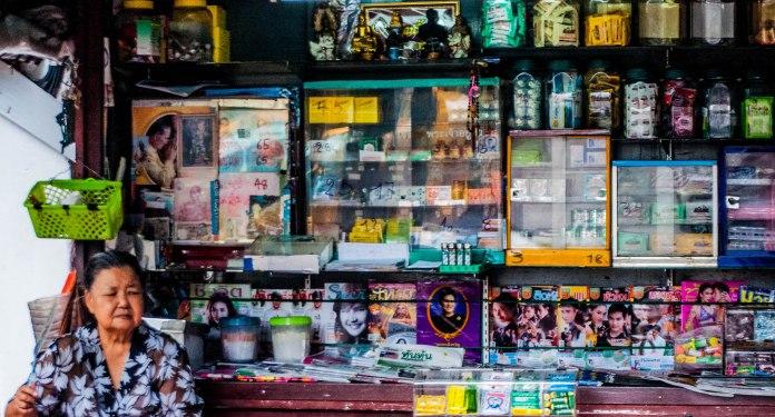 Chinatown's edge, Bangkok