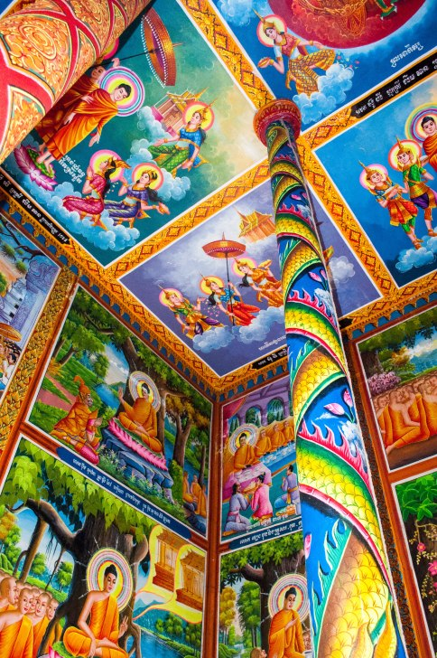 Wat Teuk Vuel, Kampot, Cambodia
