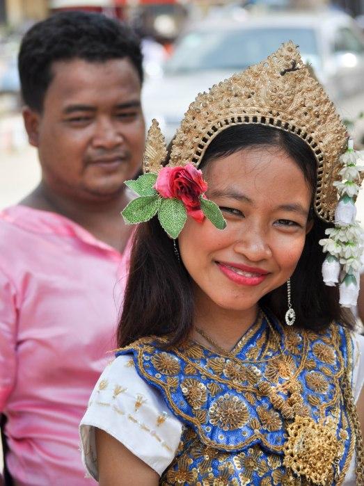Khmer New Year, Wat Toul Tompong, Phnom Penh, Cambodia, 2013