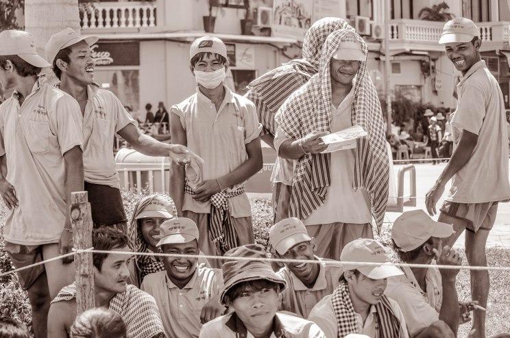 Rowing Crew, Water Festival, Phnom Penh