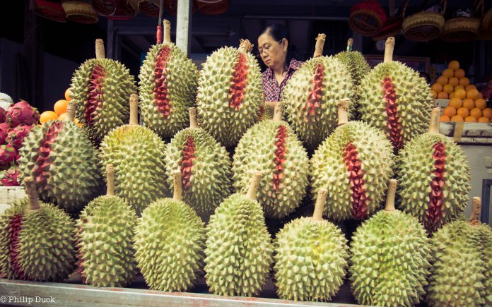 Durian, Central Phnom Penh