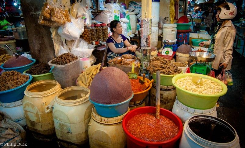 Oruessy Market,  Phnom Penh