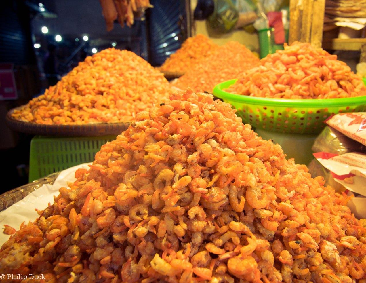 Dried Shrimp, Oursei Market, Phnom Penh