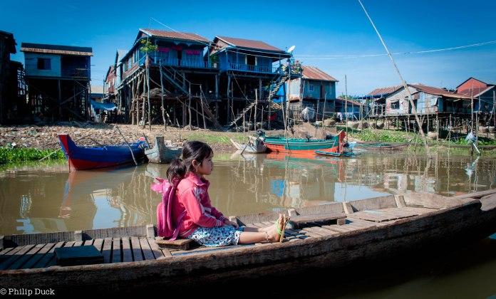 Phoum Kandal Floating village, Kampong Chhnang, Cambodia