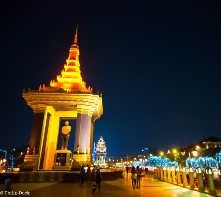 King Sihanouk Memorial, Phnom Penh