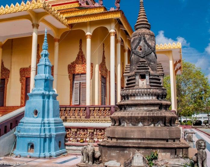 Wat Tonle Bati, Cambodia