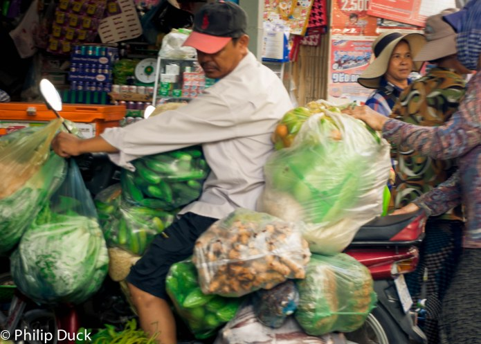 Boueng Trabek market, Phnom Penh