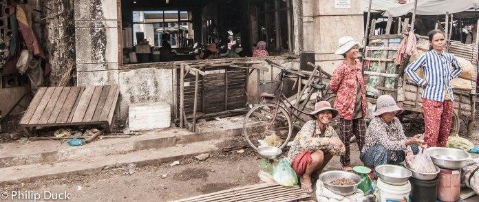 Takeo Town Market, Cambodia