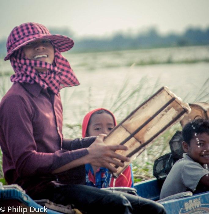 Takeo Lake, Cambodia