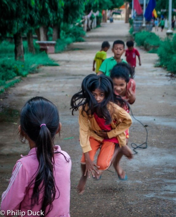 Primary school Koh Dach, Cambodia