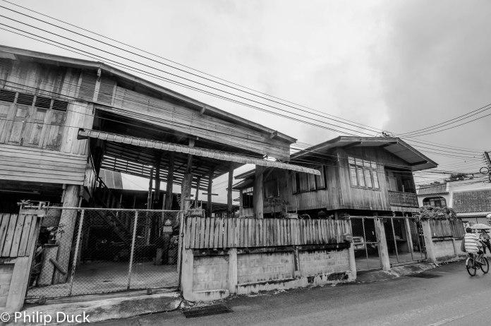 Teak House, Phrae, Thailand